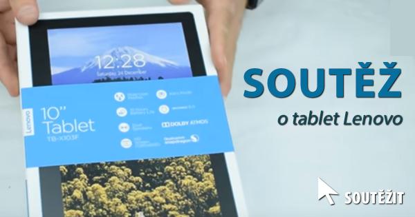 Soutěž o tablet Lenovo TAB3